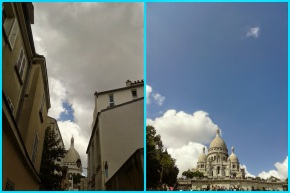 Montmartre sur ciel