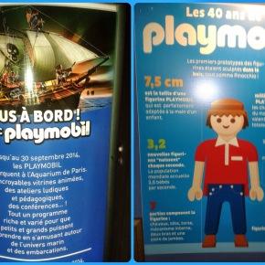 Les 40 ans de Playmobil à l'Aquarium de Paris !! 2 entrées adultes àgagner