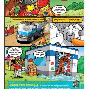 Le magazine LEGO Club Junior par LEGO – ( 2 valisettes LEGO Juniors à gagner)