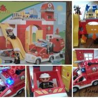 Un très joli Noël avec LEGO- Duplo ( #3 Noël : La caserne des pompiers Duplo à gagner !!)