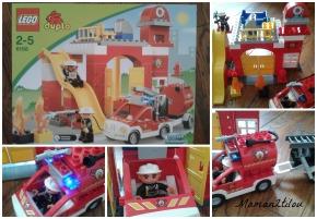 Un très joli Noël avec LEGO- Duplo ( #3 Noël : La caserne des pompiers Duplo à gagner!!)