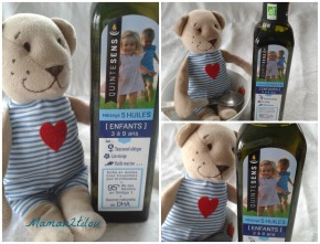 Des huiles bio santé Quintesens pour nos bébés (test et concours, 3 bouteilles d'huile bébé ou enfant àgagner)