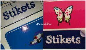 Pour tout étiqueter facilement … il y a Stikets !! (test, avis etconcours)
