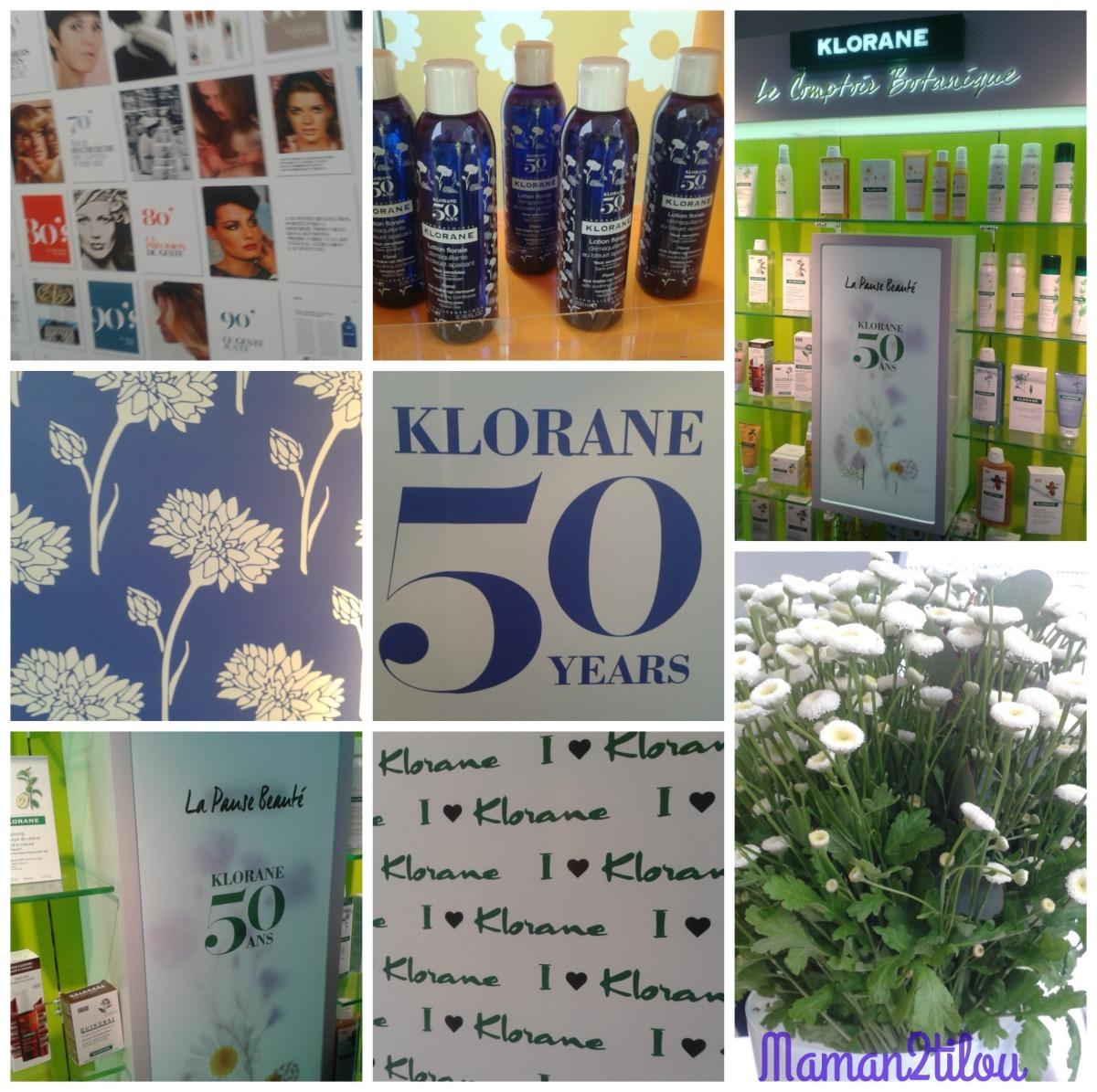 Klorane fête ses 5O ans ! Pause beauté dans les Pop Up Stores