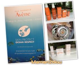 La gamme solaire Avène : RESPECT de la peau et de lanature